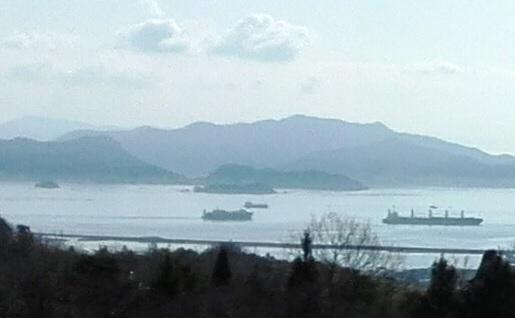 2a 宮島SAからの景色