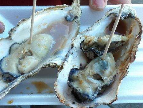 4 焼き牡蠣
