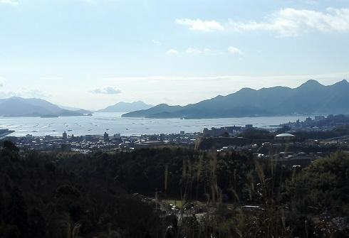 3 宮島SAからの宮島の景色