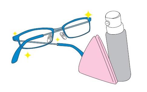 メガネ大掃除