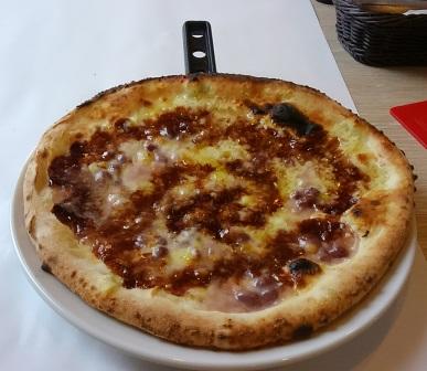 不思議Collmeしそうなピザ