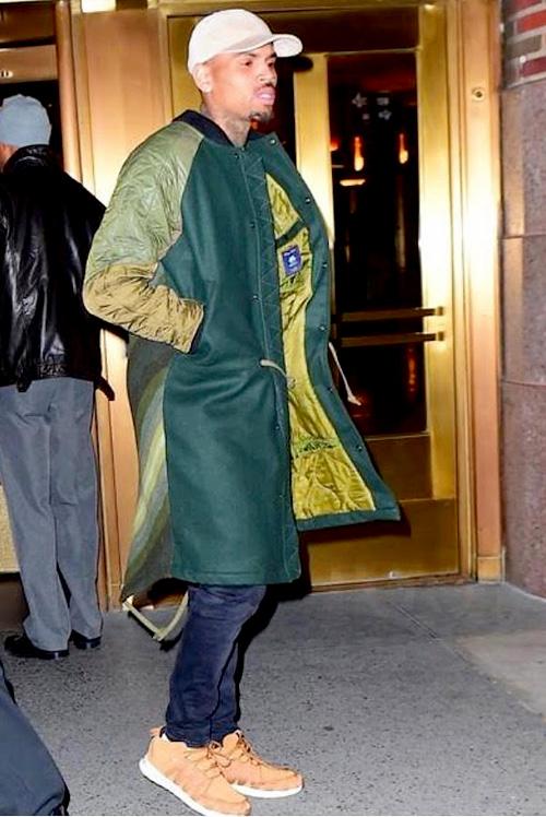 クリス・ブラウン(Chris Brown):マハリシ(Maharishi)アディダス(Adidas)アミ アレクサンドル マテュッシ(AMI Alexandre Mattiussi)