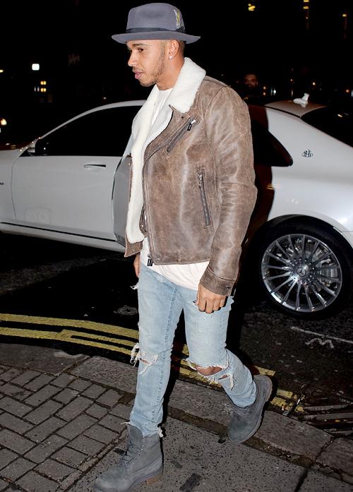 ルイス・ハミルトン(Lewis Hamilton):ディオール(Dior)サンローラン(Saint Laurent)ティンバーランド(Timberland)