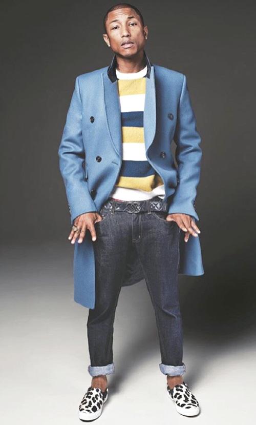 ファレル・ウィリアムス(Pharrell Williams):グッチ(Gucci)/メゾンキツネ(Maison Kitsune)/ビリオネアボーイズクラブ(BILLIONAIRE BOYS CLUB)/セリーヌ(Celine)