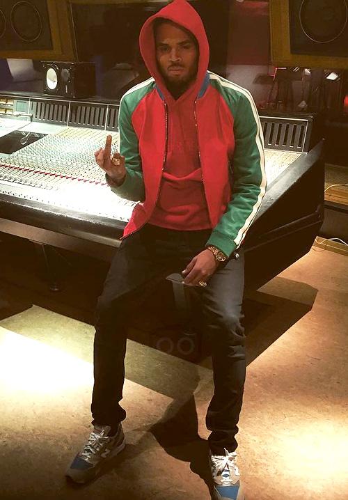 クリス・ブラウン(Chris Brown):ディースクエアード (Dsquared2) ニューバランス(New Balance)