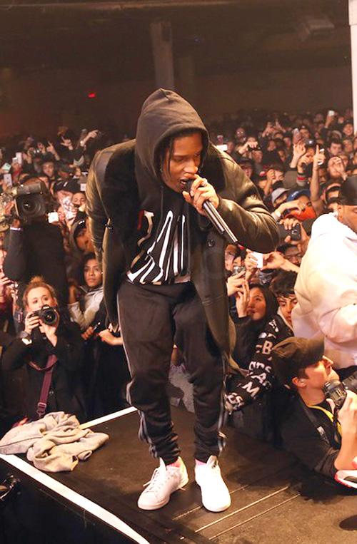 エイサップ・ロッキー(A$AP Rocky):ヴイ・ロン(V Lone)アディダス(Adidas)