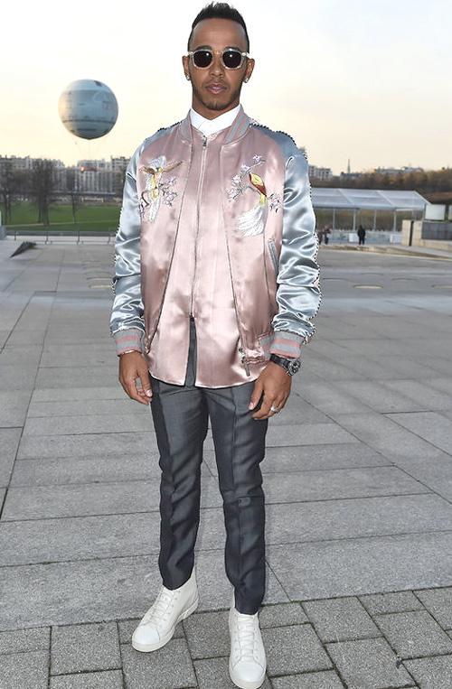 ルイス・ハミルトン(Lewis Hamilton) :ルイヴィトン(Louis Vuitton)/アイダブルシー(IWC)/イレステーバ(Illesteva)