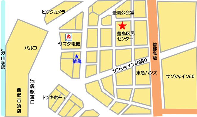 区民センターマップ