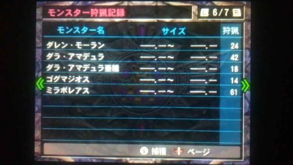 MH4G総決算 その3 ギルカ 6 モンス8