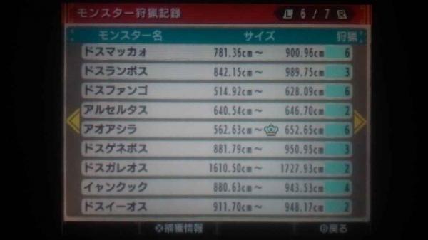 ランク解放ギルカ公開 6 モンス1