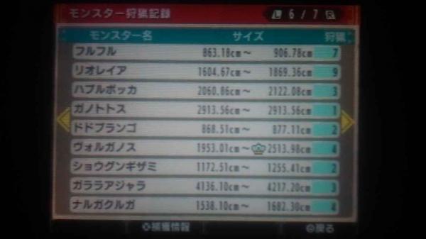 ランク解放ギルカ公開 6 モンス3