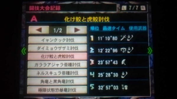 MH4G総決算 その3 ギルカ 7 闘技場3