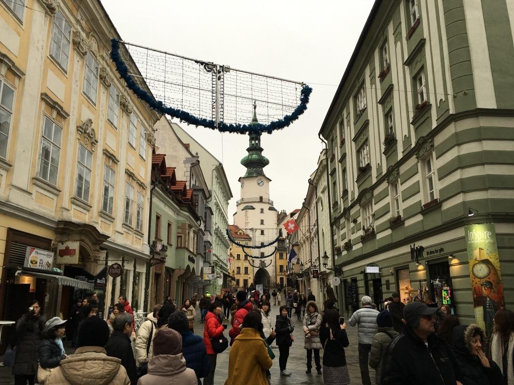 ブラチスラヴァ街並
