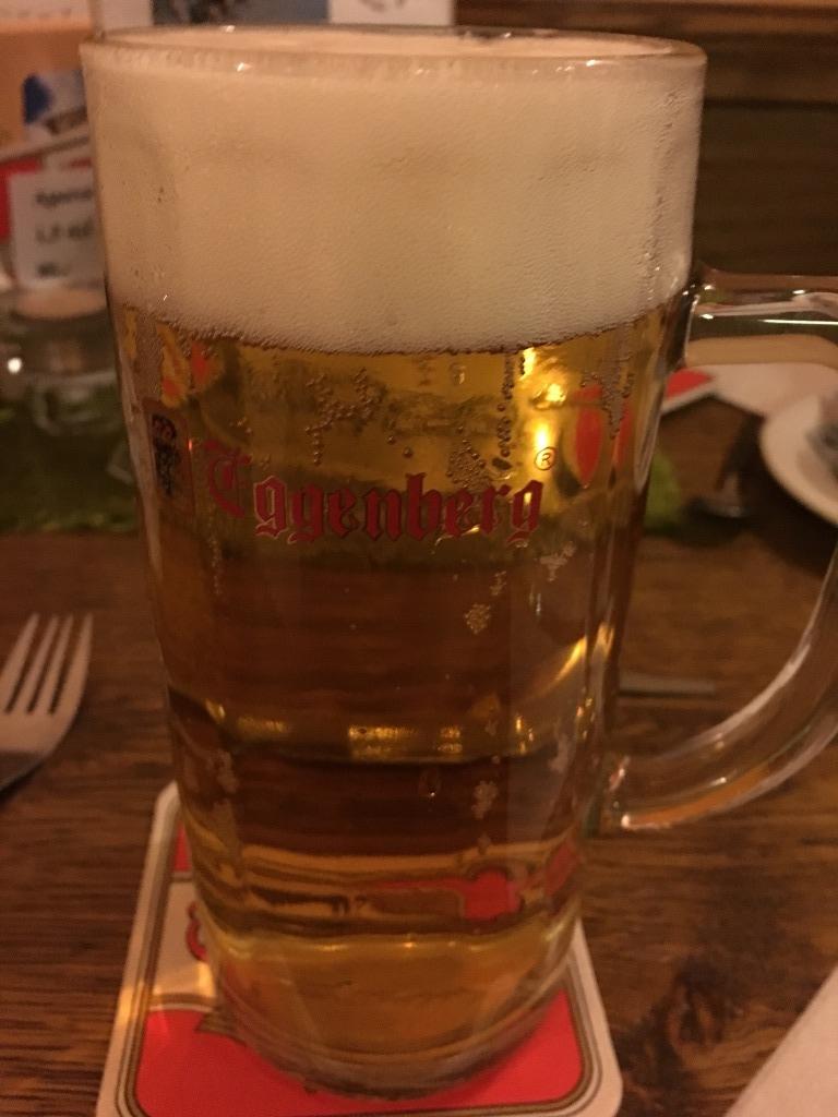 チェスキー・クルムロフ ビール