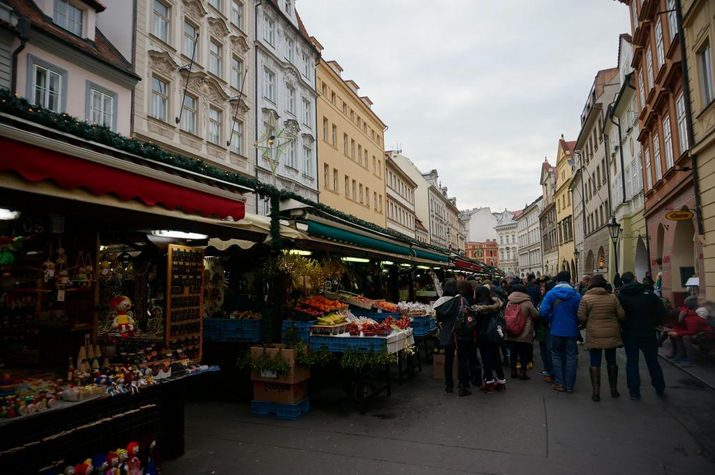 プラハクリスマスマーケット
