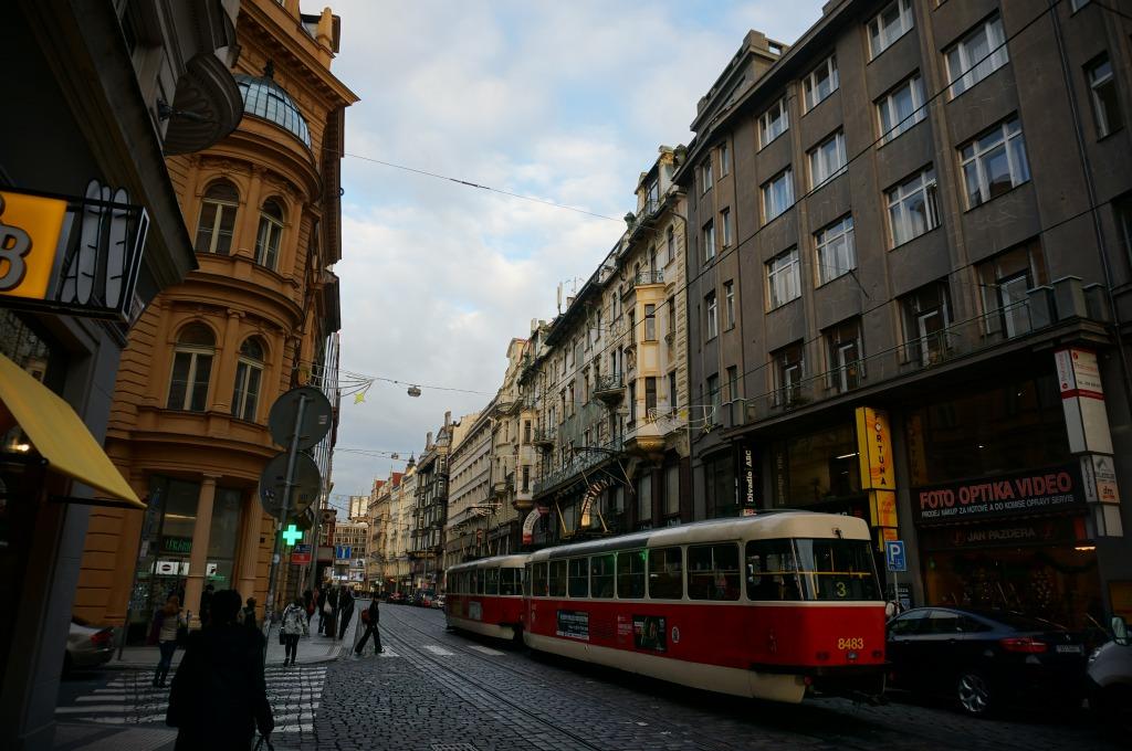 プラハ街並