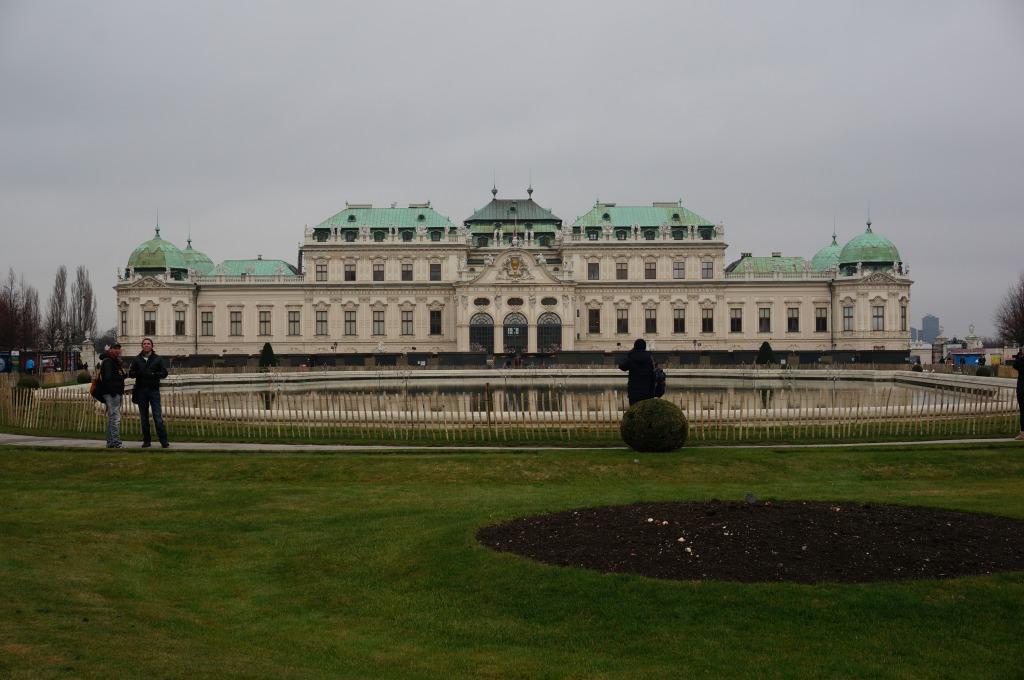 ベルベデーレ宮殿1