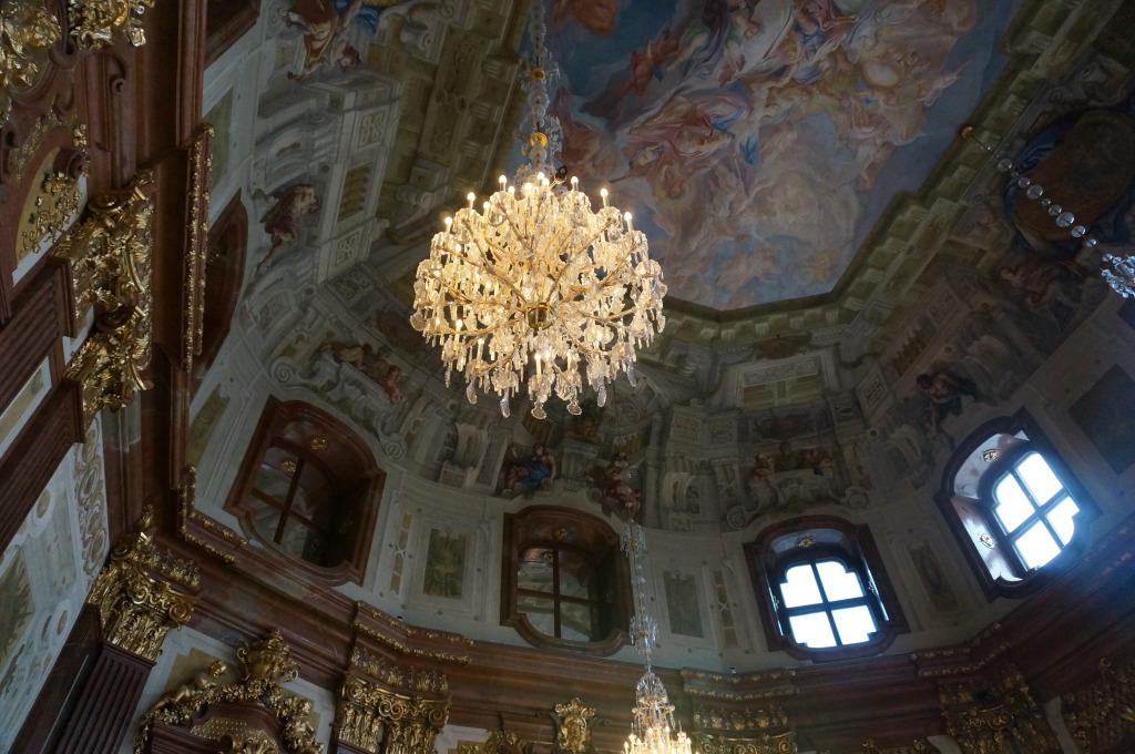 ベルベデーレ宮殿内部