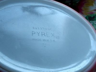 戦利品Pyrex
