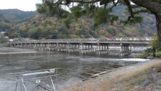 けいおん!聖地巡礼 嵐山 渡月橋
