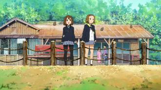 けいおん!聖地巡礼 嵐山 嵐山モンキーパーク