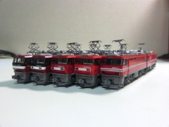 JRF・H級交流&交直流機関車