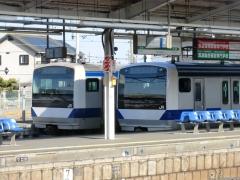 勝田K467とK552