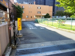 江戸川清掃工場操車場入口