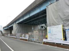 葛西橋(耐震工事中)