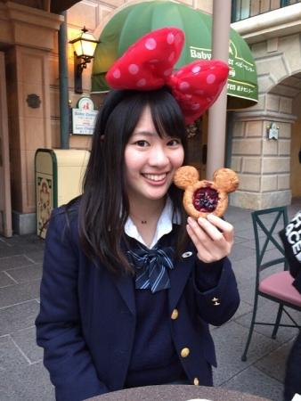実紅とミッキーパン