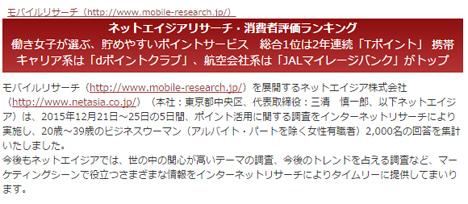 JALが今年も特典航空券取りやすさ、満足度でトップに!航空会社へのアンケートです。