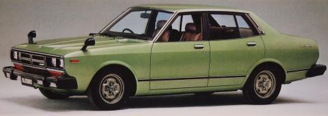 79年4月 ブルーバード1800SSS-E