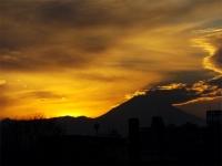 20160103夕暮れの富士山6