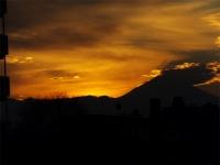 20160103夕暮れの富士山7