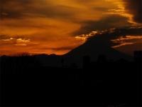 20160103夕暮れの富士山9