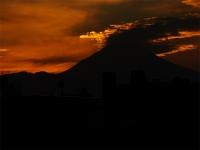 20160103夕暮れの富士山10