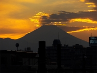 20160103夕暮れの富士山11