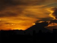 20160103夕暮れの富士山8