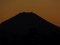 20160125三鷹跨線橋からの富士山2