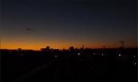20160125三鷹跨線橋からの富士山3
