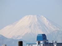 20160127三鷹跨線橋からの富士山2