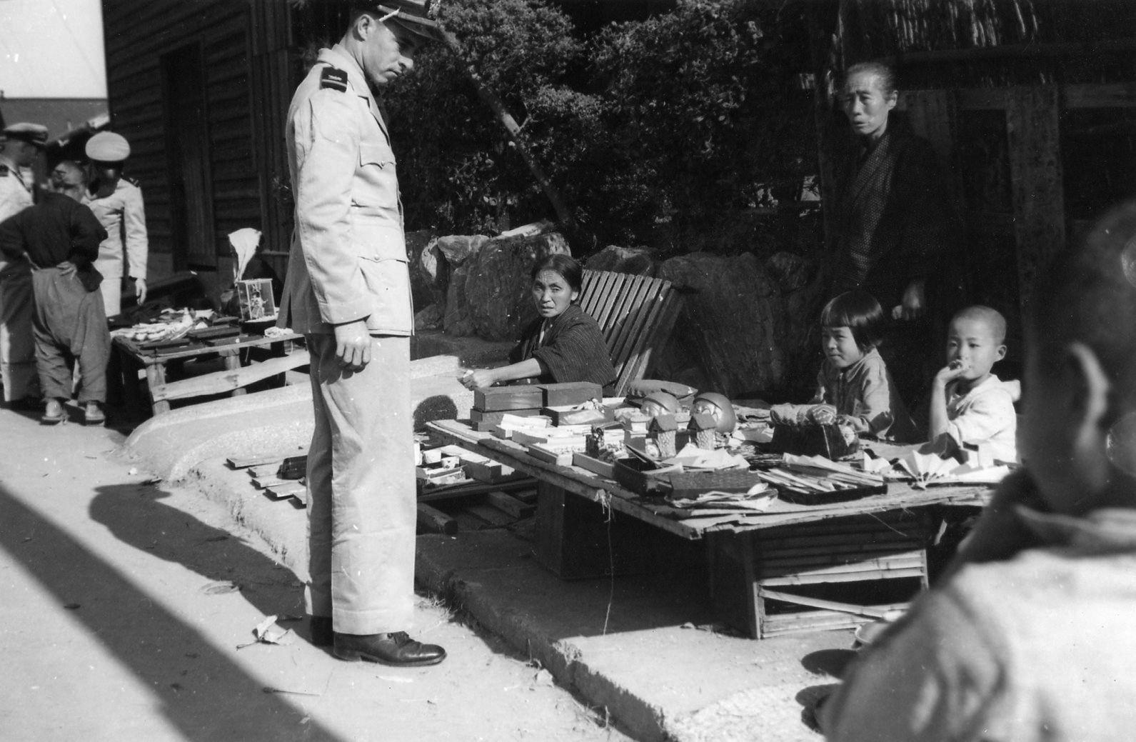 終戦直後の和歌浦、米軍撮影