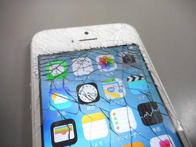 iPhone5割れ2