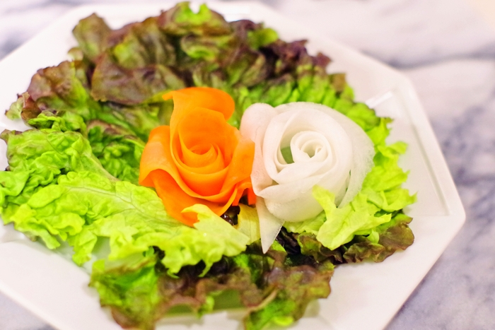 薔薇リボンサラダ手順 (3)
