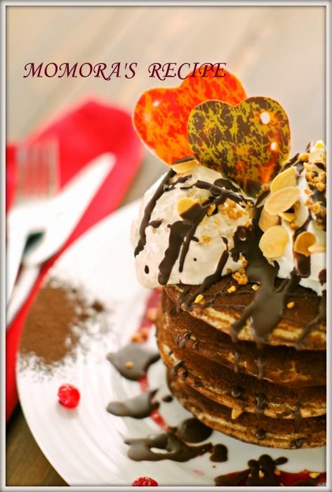 HMフォンダンチョコパンケーキ