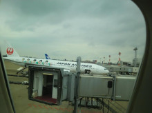 りさーちゃーのたまご-嵐の飛行機