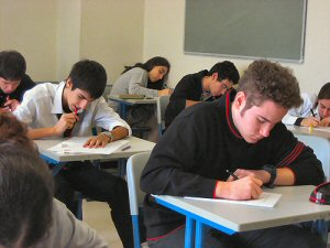 05 300 writing HS students