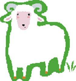 01 009 250 200705#3 sheep