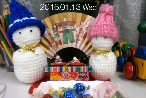 05 500 20160113 Tomes Dolls ひな人形 glassbeads