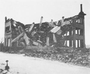 破壊されたビル